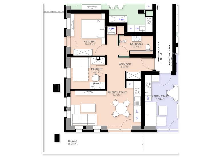Apartment A103