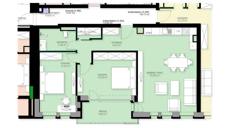 Apartment A404