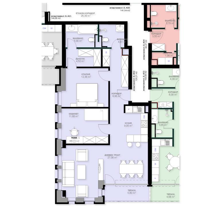 Apartment B402