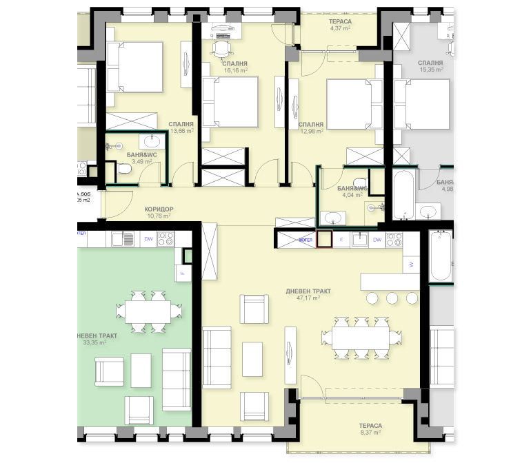 Apartment A505