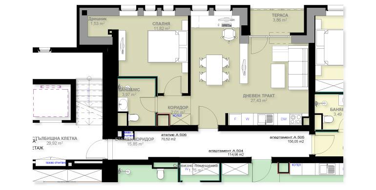 Apartment A506